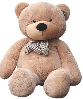 عروسک خرس 2 متری قهوه ای